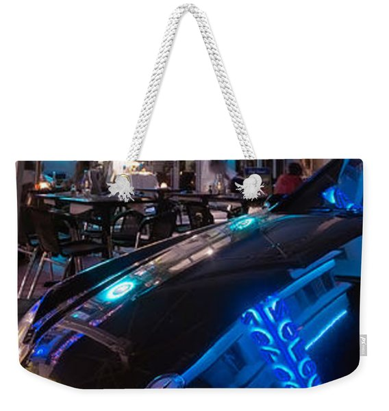 Mercedes At The Colony Weekender Tote Bag