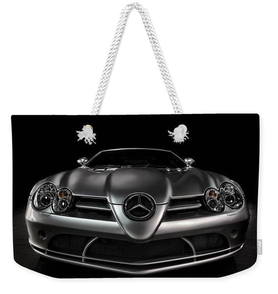 Mercedes Mclaren Slr Weekender Tote Bag