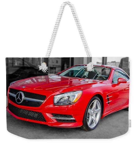 Mercedes Sl550   7d01718 Weekender Tote Bag