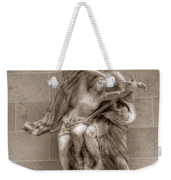 Mercury And Psyche Weekender Tote Bag