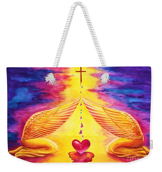 Mercy Weekender Tote Bag