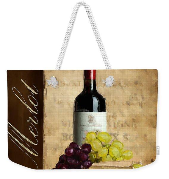 Merlot IIi Weekender Tote Bag