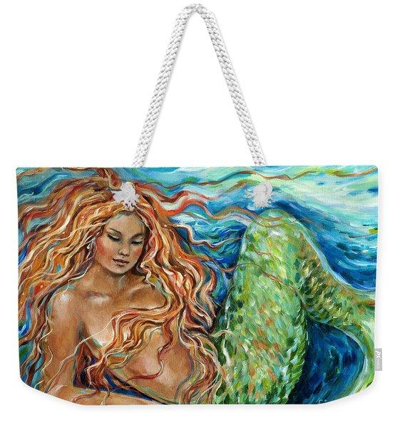 Mermaid Sleep New Weekender Tote Bag