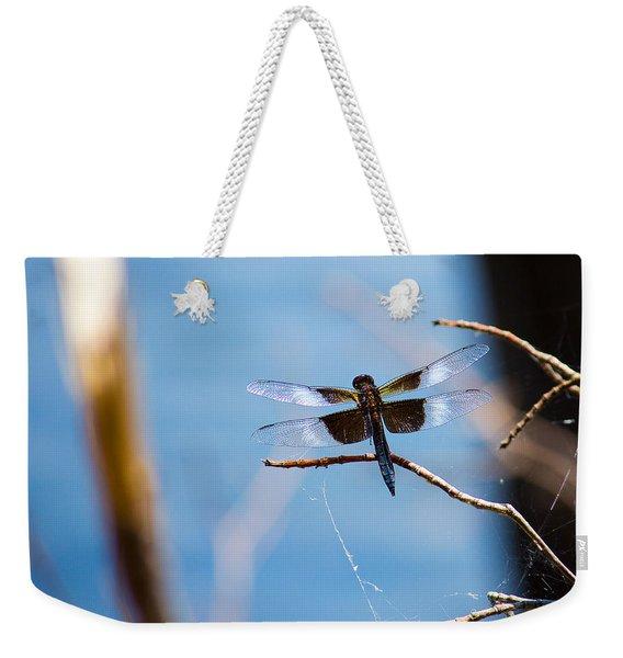 Merrill Creek Dragonfly Weekender Tote Bag