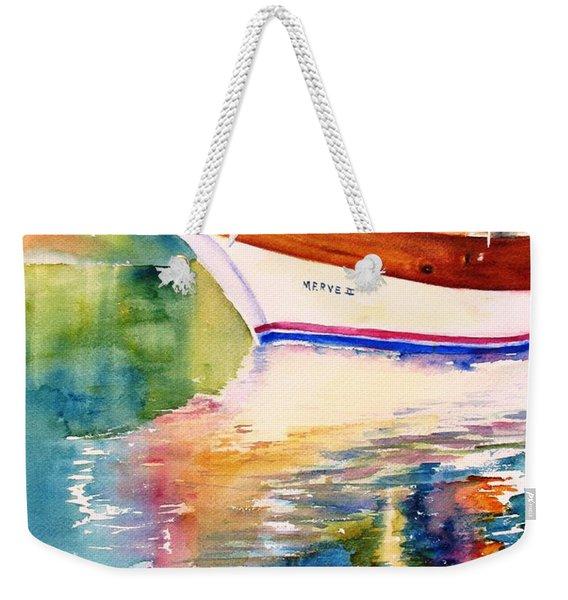 Merve II Gulet Yacht Reflections Weekender Tote Bag