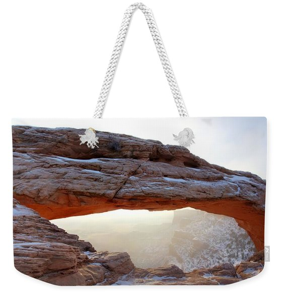 Mesa Arch Looking North Weekender Tote Bag