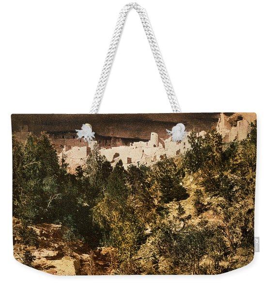 Mesa Verde Cliff Palace Weekender Tote Bag