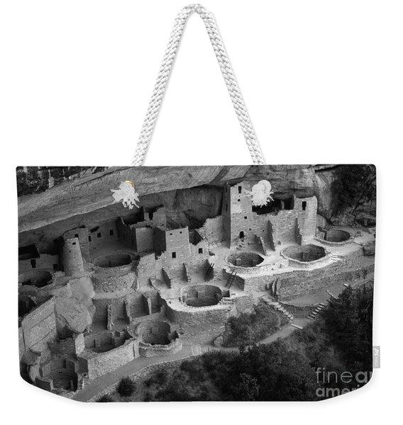Mesa Verde Monochrome Weekender Tote Bag