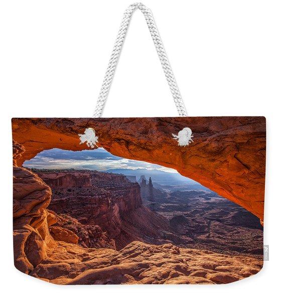 Mesa's View Weekender Tote Bag
