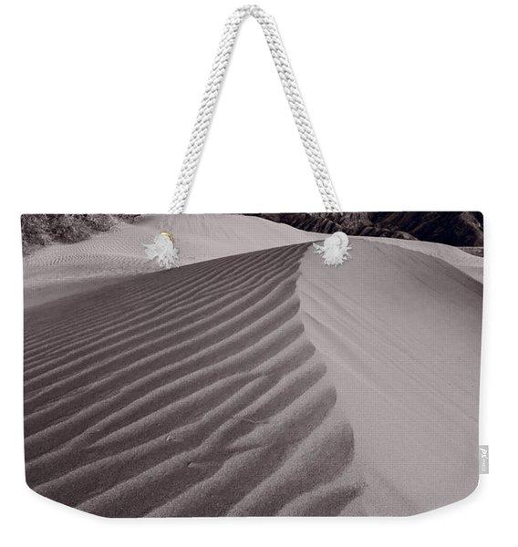 Mesquite Dunes Death Valley B W Weekender Tote Bag
