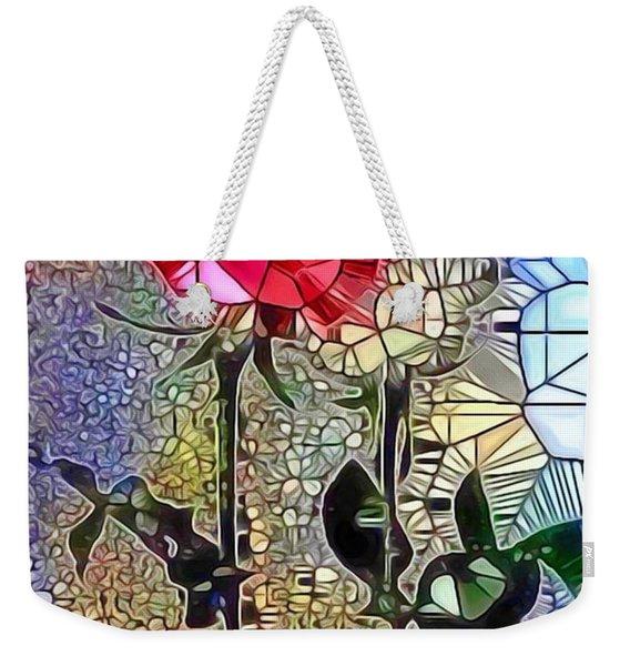 Metalic Rose Weekender Tote Bag