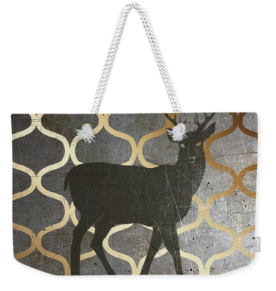 Metallic Nature I Weekender Tote Bag