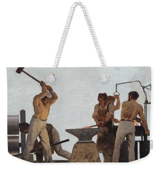 Metallurgy Weekender Tote Bag