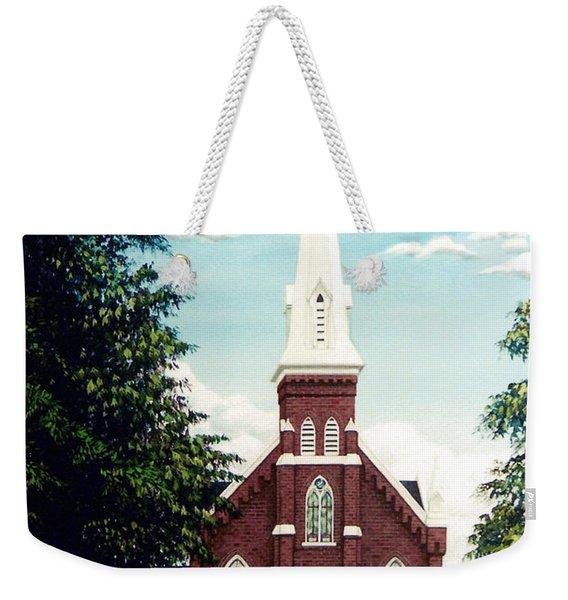 Methodist Church Weekender Tote Bag