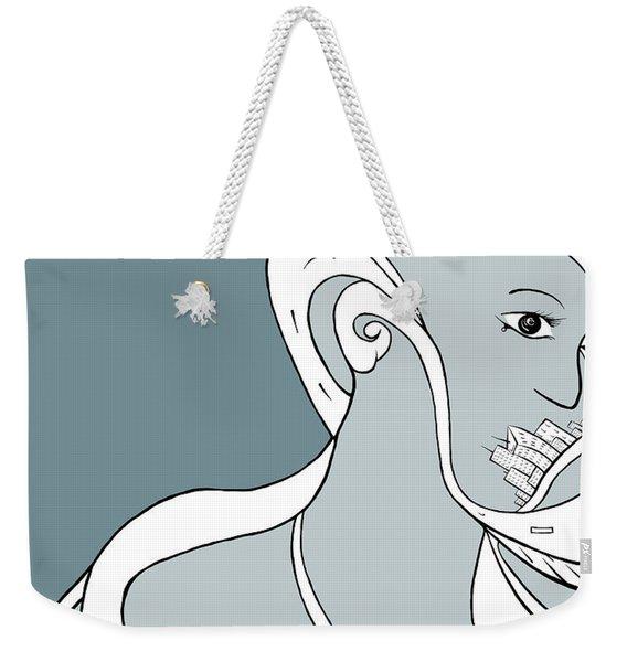 Metro Polly Weekender Tote Bag