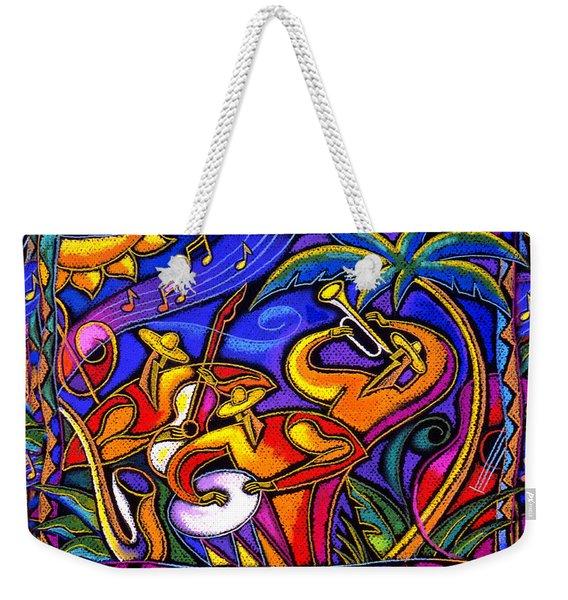 Latin Music Weekender Tote Bag