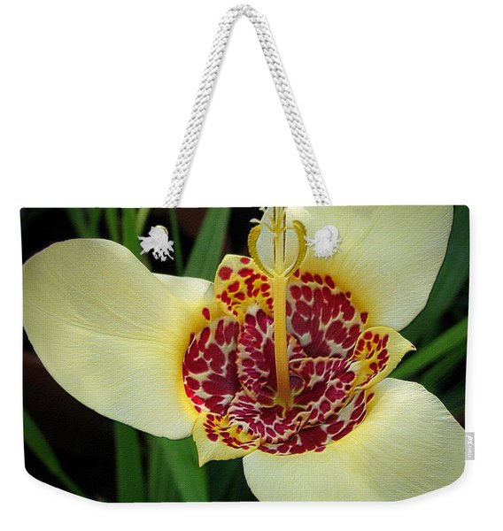 Mexican Shell Flower Weekender Tote Bag