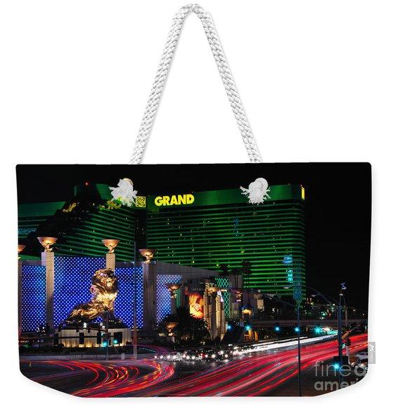 Mgm Grand Hotel And Casino Weekender Tote Bag