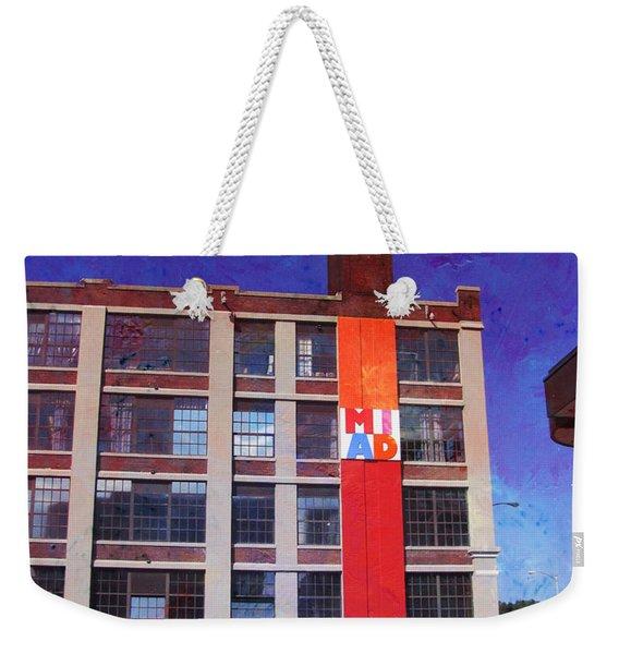 Miad 2 W Paint Weekender Tote Bag
