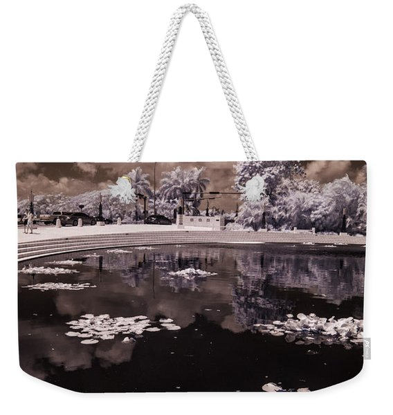 Miami Beach Lake Weekender Tote Bag