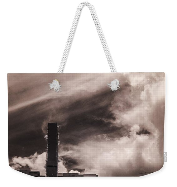Miami Beach Sky Weekender Tote Bag