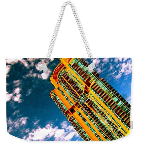 Miami South Pointe Highrise Weekender Tote Bag