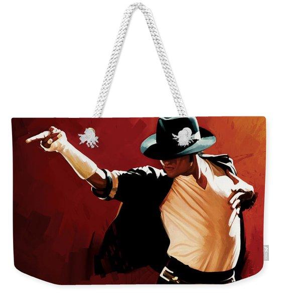 Michael Jackson Artwork 4 Weekender Tote Bag