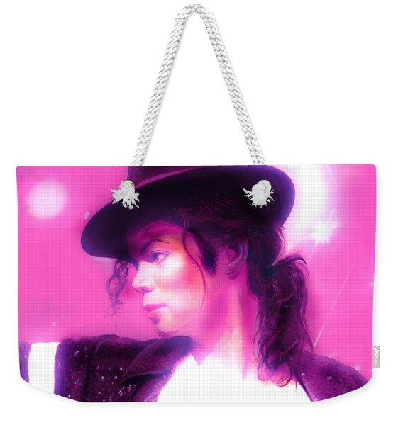 Michael Jackson King Of Pop Weekender Tote Bag