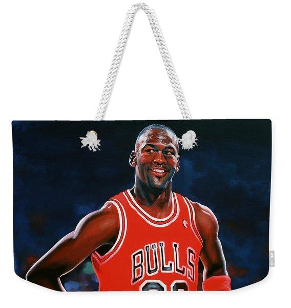 Michael Jordan Weekender Tote Bag