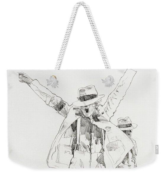 Michael Smooth Criminal Weekender Tote Bag