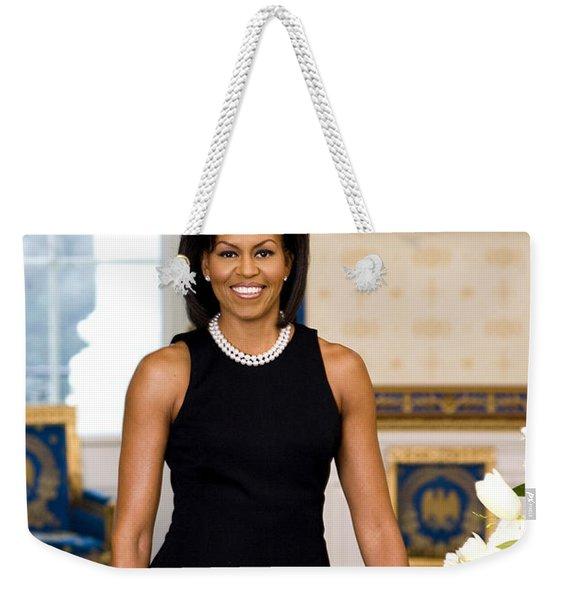 Michelle Obama Weekender Tote Bag