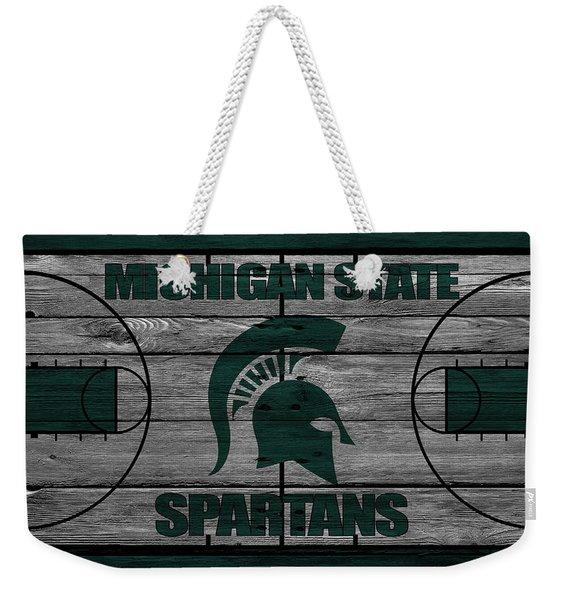 Michigan State Spartans Weekender Tote Bag