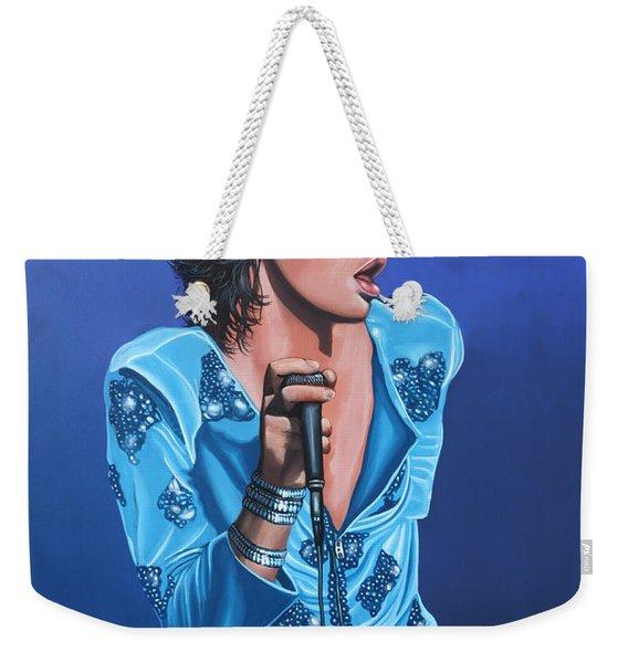 Mick Jagger Weekender Tote Bag