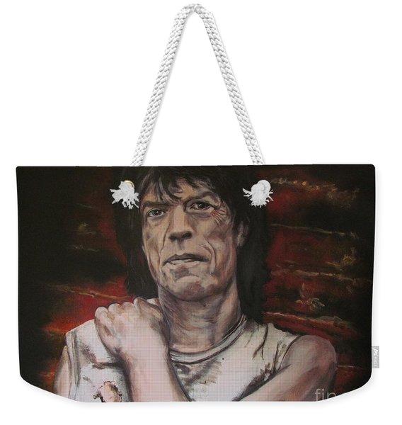 Mick Jagger - Street Fighting Man Weekender Tote Bag
