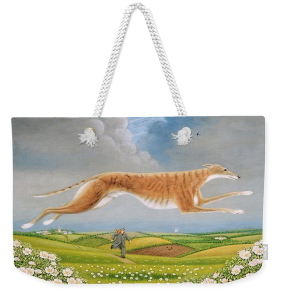 Mick The Miller, 1992 Oils And Tempera On Panel Weekender Tote Bag