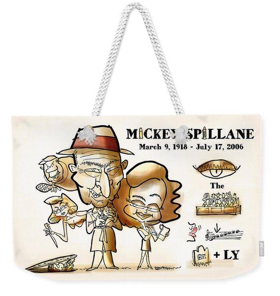 Mickey Spillane Weekender Tote Bag