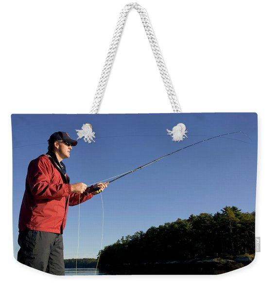 Midcoast Maine Tourism Weekender Tote Bag