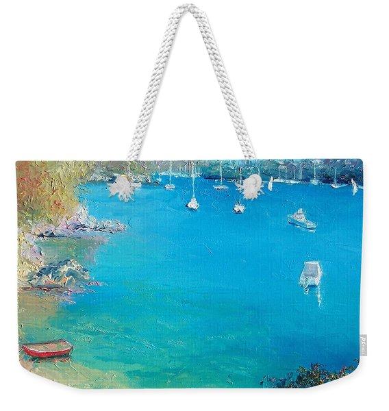 Middle Harbour Sydney Weekender Tote Bag