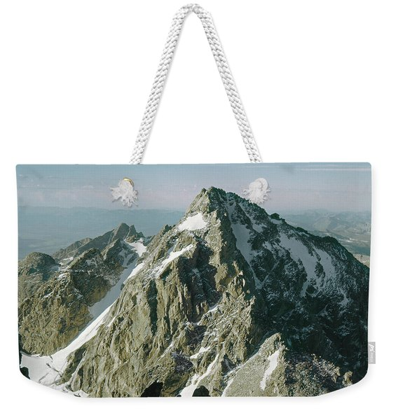T-209207-middle Teton From Grand Teton Weekender Tote Bag