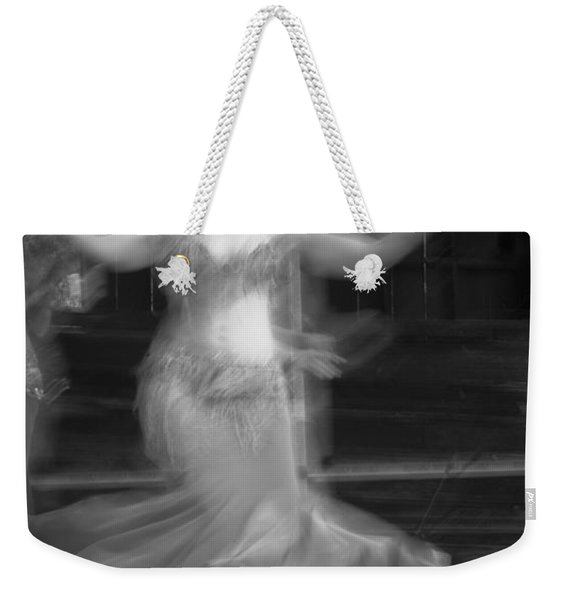 Weekender Tote Bag featuring the photograph Mideastern Dancing 7 by Catherine Sobredo