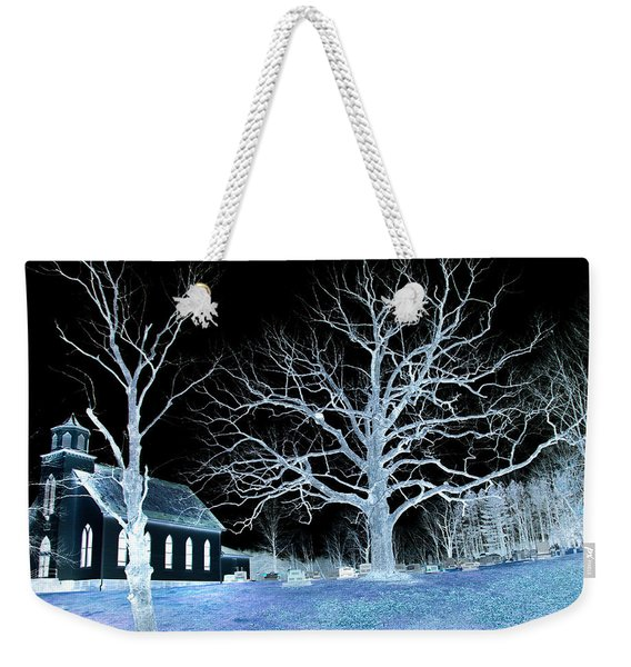 Midnight Country Church Weekender Tote Bag