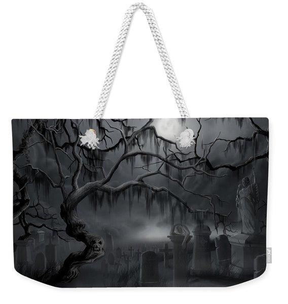 Midnight In The Graveyard  Weekender Tote Bag