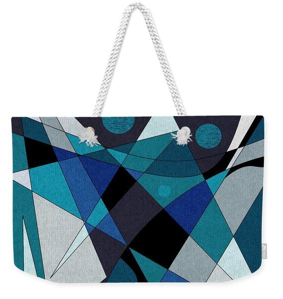 Midnight Jazz Weekender Tote Bag