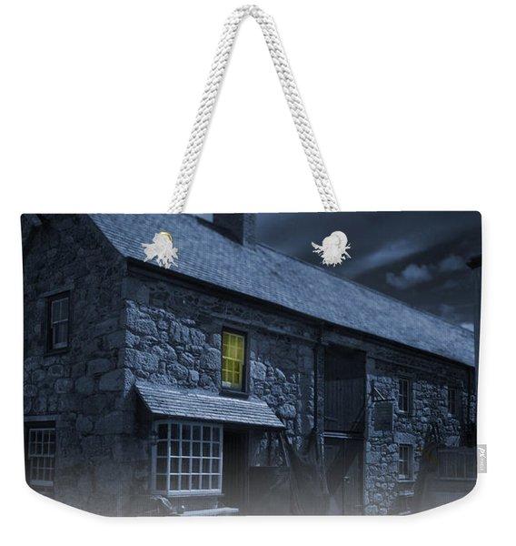 Midnight Mist Weekender Tote Bag