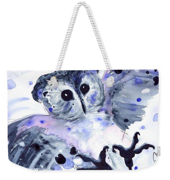 Midnight Owl Weekender Tote Bag
