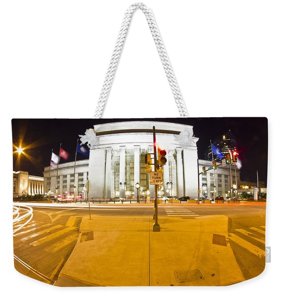 Midnight Train From Philly Weekender Tote Bag