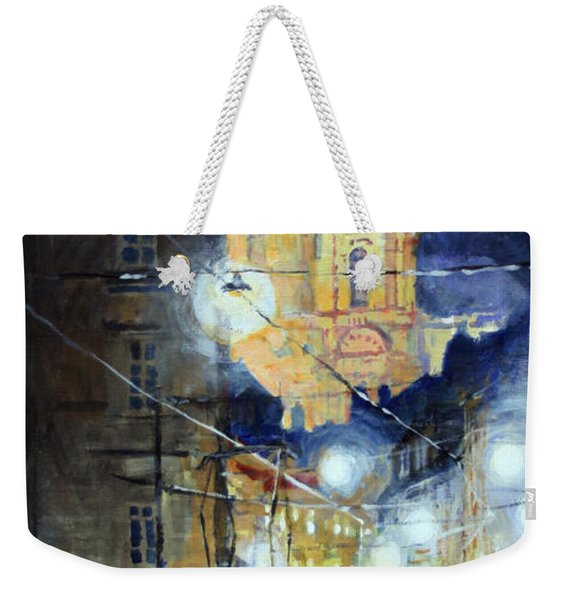 Midnight Tram  Prague  Karmelitska Str Weekender Tote Bag