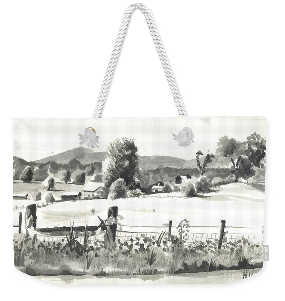 Midsummer View Out Route Jj   No I101 Weekender Tote Bag