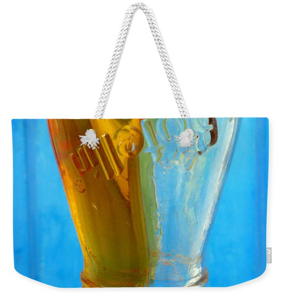 Weekender Tote Bag featuring the photograph Miel by Skip Hunt