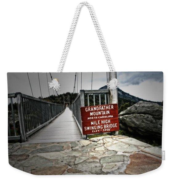 Mile High Weekender Tote Bag